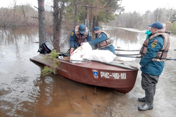 С подтопленных территорий Свердловской области эвакуированы 229 человек