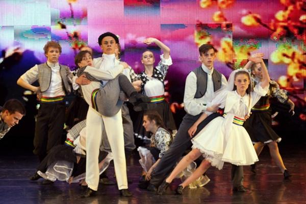 Эстрадный балет «Апельсин» стал обладателем «золота» XV Дельфийских игр России
