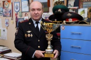 Пресс-секретарь ГУ МВД области стал самым метким стрелком гарнизона полиции