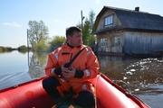 В Слободо-Туринском районе из-за паводка введен режим чрезвычайной ситуации