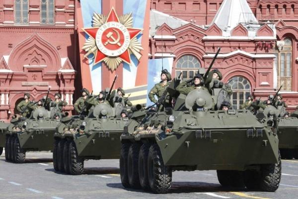 Парад на Красной площади в Москве обошелся в 300 млн рублей