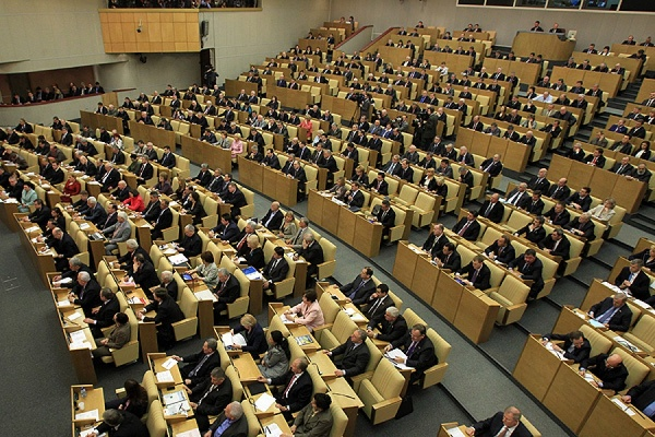 Дума не дала ход проекту об отставке министров по инициативе депутатов