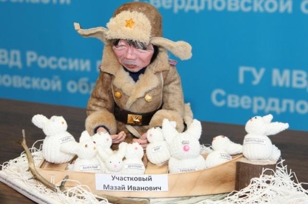 «Дядя Стёпа — Мазай Иванович». В Свердловской области выбрали лучшего полицейского по версии детей