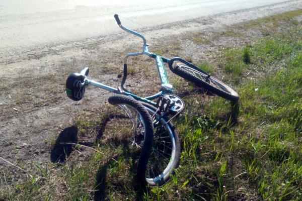 В Белоярском районе в ДТП пострадал 13-летний велосипедист