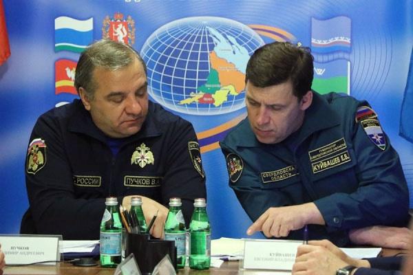 Владимиру Пучкову доложили о паводке в Свердловской области