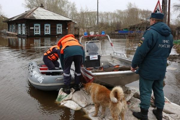 В Туринском городском округе освободилось от воды село Фабричное