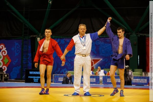 Свердловские самбисты взяли «золото» и «бронзу» на чемпионате Европы в Казани