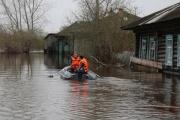 В Туринском городском округе от воды освободился еще один населенный пункт