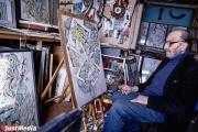 Художник Волович надеется, что высокое звание поможет ему издать пятилетний труд