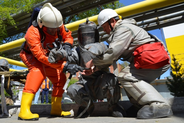 Спасатели ликвидировали последствия «утечки» аммиака на жиркомбинате