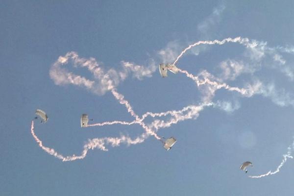 Завершился первый этап на Кубок командующего войсками ЦВО по парашютному спорту на точность приземления