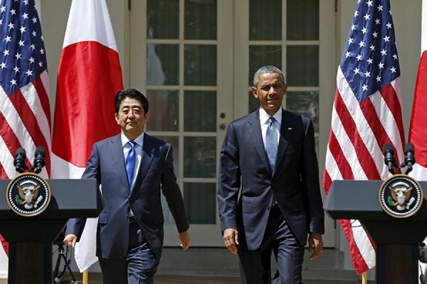 Встреча Абэ и Обамы из-за инцидента на Окинаве пройдет раньше, чем запланировано