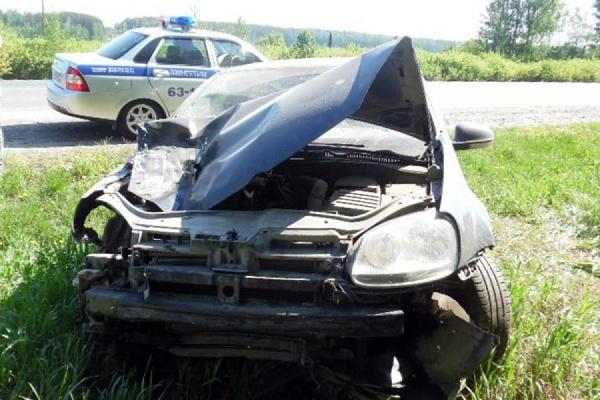 Нетрезвый водитель спровоцировал ДТП с пострадавшим на автодороге Екатеринбург—Шадринск—Курган