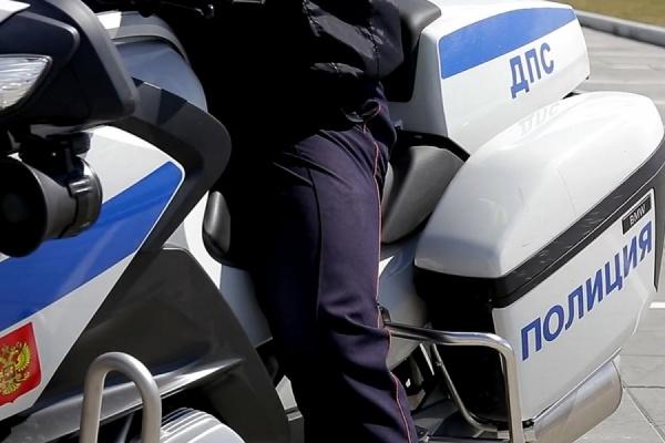 Госавтоинспекция Екатеринбурга разыскивает байкера, столкнувшего с мотоцикла инспектора ДПС