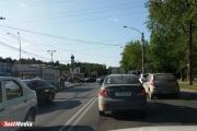 Из-за отключения электричества не работают светофоры и стоят троллейбусы