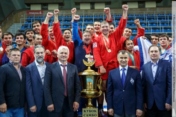 Верхнепышминские самбисты в составе сборной Национальной гвардии выиграли Кубок Президента РФ