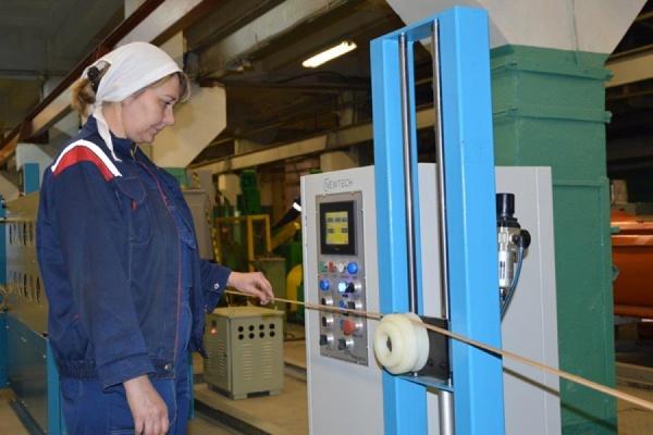 На заводе «Уралкабель» запущена современная линия для изготовления обмоток мощных трансформаторов