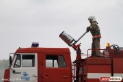 В Алапаевске загорелась верхушка водонапорной башни