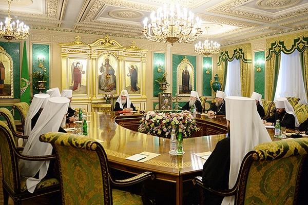 Священный синод РПЦ проведёт экстренное заседание в Москве