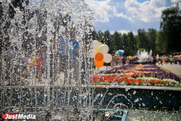 Неделя в Екатеринбурге будет теплой и солнечной. В выходные — дожди