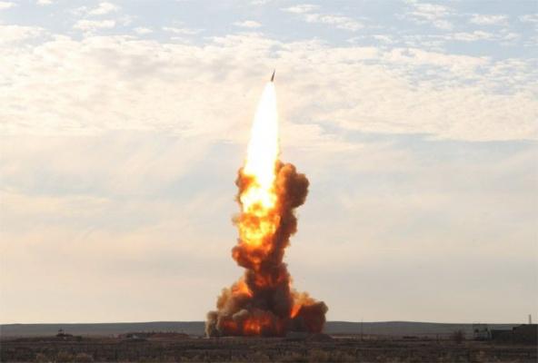 ВКС успешно испытали противоракету ближнего действия системы ПРО
