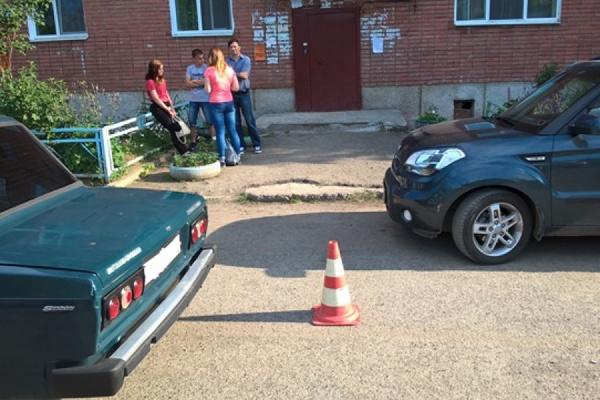 В Свердловской области дети все чаще попадают в ДТП во дворах