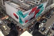 Екатеринбург станет единственным городом в России, которому всемирно известный итальянский художник подарит свое граффити