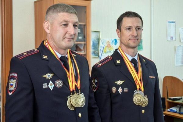 Шесть медалей на двоих. Свердловские полицейские стали чемпионами Европейских игр полицейских и пожарных-2016