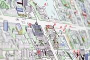 Уральские дизайнеры разработали авторскую карту екатеринбургских топонимов