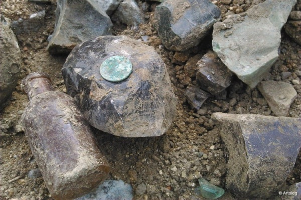 Найденные на площади Коммунаров артефакты могут признать «саботажем»