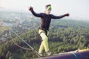 Длина 120 метров, высота – 100. Знаменитый уральский хайлайнер в очередной раз покорил Екатеринбург
