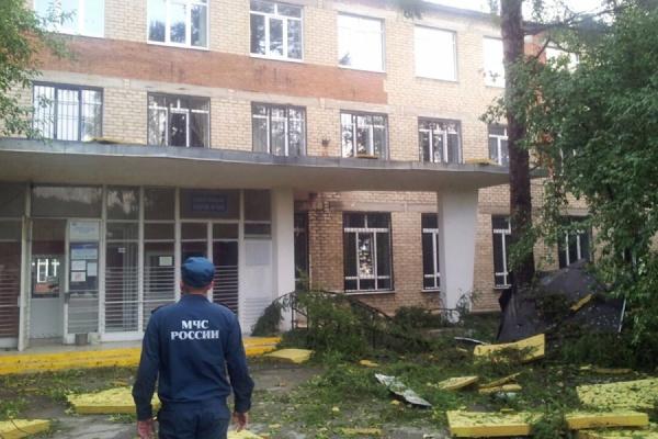 Восемь аварий на электросетях произошли в Первоуральске в результате урагана