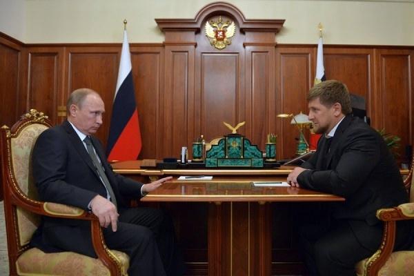 Путин и Кадыров провели встречу в Кремле