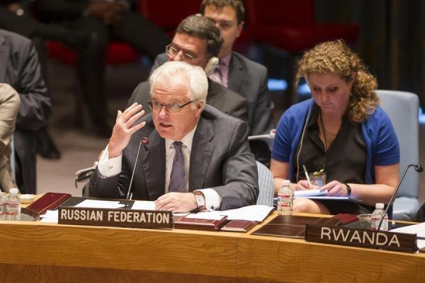 Чуркин подверг сомнению ряд фактов в докладе по химоружию в Сирии