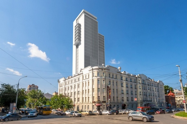 На Градсовете рассмотрят проект высотки у отеля «Центральный» и памятника Василию Маргелову у «Черного тюльпана»