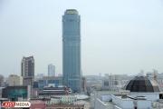 Над Екатеринбургом сгустился смог — в городе и окрестностях горит лес
