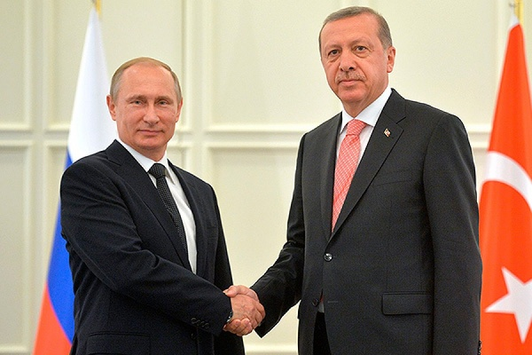 Путин и Эрдоган обсуждали вопрос снятия продэмбарго