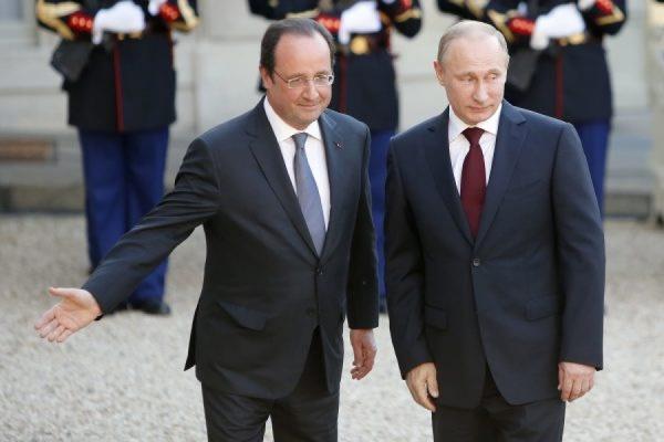 В Ханчжоу началась встреча Путина и Олланда