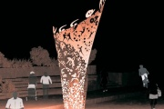 На Олимпийской набережной «загорится» «Пламя сердец»