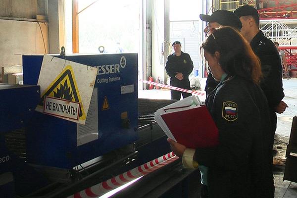 Екатеринбургская фирма лишилась дорогостоящих станков из-за долгов перед работниками