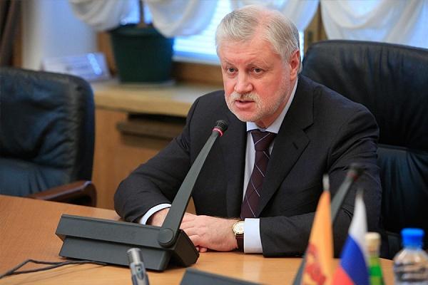 Сергей Миронов предложил сажать надва года заторговлю орденами