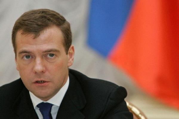 В правительстве допустили общение Медведева и Обамы на саммите в Лаосе