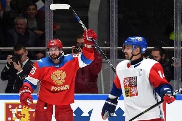 Сборная РФ похоккею одолела команду Чехии ввыставочном матче