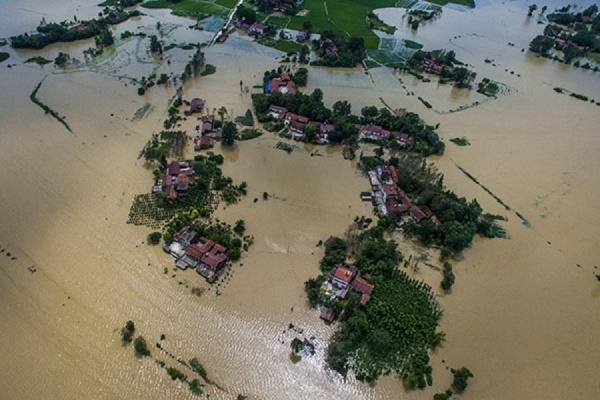 В КНДР произошло наводнение