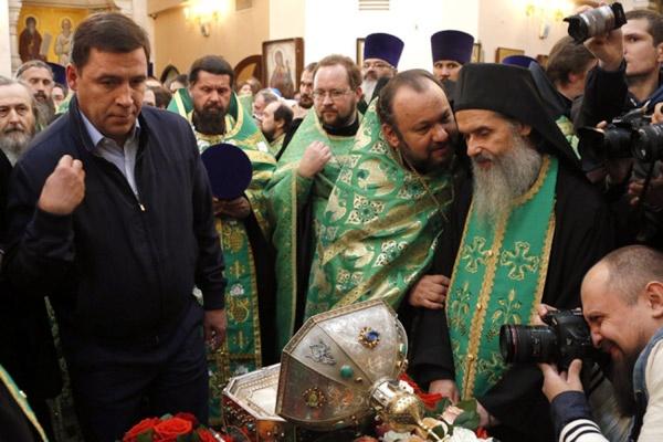 Евгений Куйвашев получил благословение на добрые дела