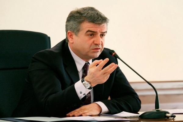 Новым премьер-министром Армении назначен Карен Карапетян