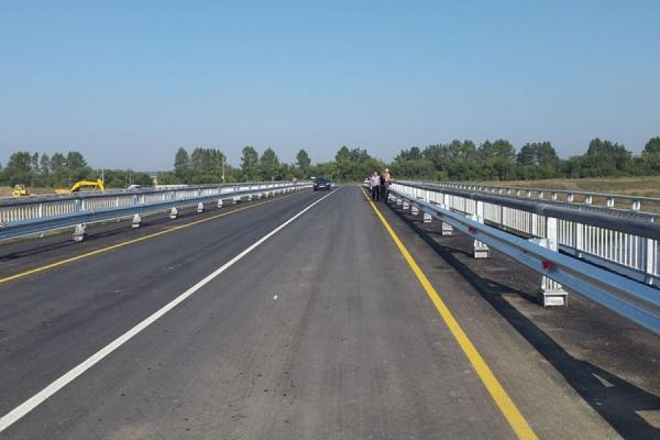 Новая дорога соединила алапаевские деревни с районным центром