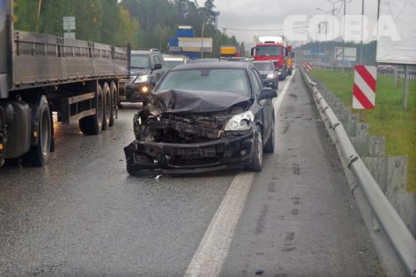НаМосковском тракте из-за дорожного происшествия создалась внушительная пробка