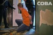 Полицейские задержали буйного екатеринбуржца, который угрожал ножом своей жене