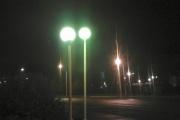 Жители Новоуральска возмущены частоколом из фонарей. ФОТО